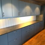 Kjøkkenskap behandlet av Trelakkering AS, Tyristrand